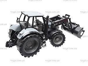 Трактор инерционный с ковшом, 2088B, игрушки