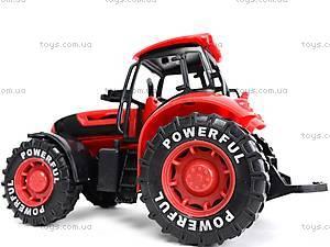 Трактор инерционный, детский, 3368-10, toys.com.ua