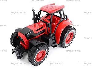 Трактор инерционный, детский, 3368-10, toys