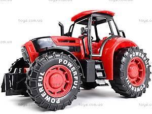 Трактор инерционный, детский, 3368-10, іграшки