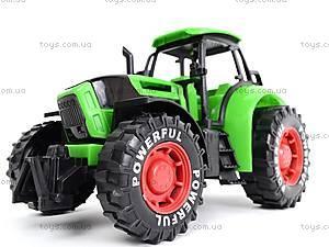Трактор инерционный, детский, 3368-10, детский