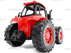 Трактор инерционный, детский, 3368-10, Украина