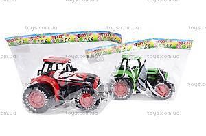 Трактор инерционный, детский, 3368-10