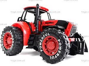 Трактор инерционный, детский, 3368-10, доставка