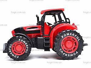 Трактор инерционный, детский, 3368-10, фото