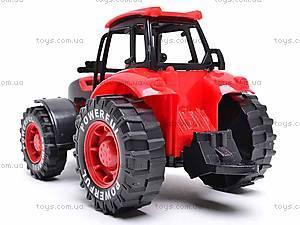 Трактор инерционный, детский, 3368-10, отзывы