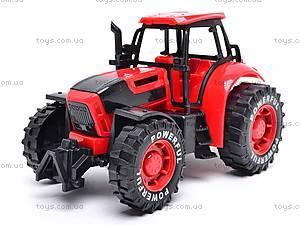 Трактор инерционный, детский, 3368-10, цена
