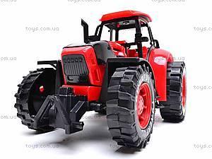 Трактор инерционный, детский, 3368-10, игрушки