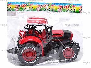 Трактор инерционный, детский, 3368-10, детские игрушки