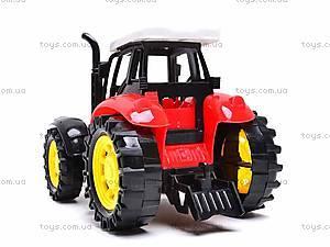 Трактор инерционный, для детей, 1205-2, купить