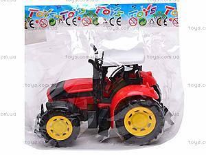 Трактор инерционный, для детей, 1205-2, фото