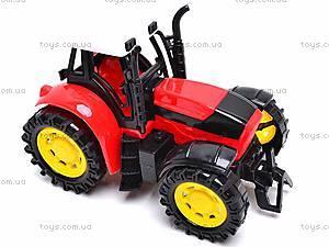Трактор инерционный, для детей, 1205-2, игрушки