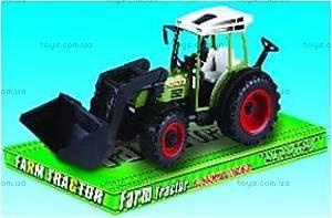 Трактор инерционный игрушечный, 2088