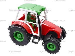 Трактор инерционный, игрушечный, 168-4, фото