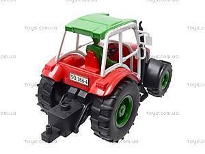 Трактор инерционный, игрушечный, 168-4, отзывы
