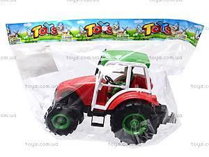 Трактор инерционный, игрушечный, 168-4