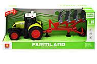 Трактор инерционный фермерский, 1:16, WY900C, отзывы