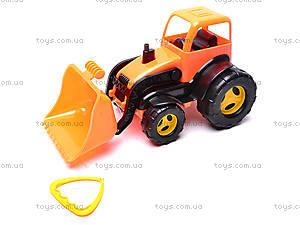 Трактор-каталка с ковшом, 5078, фото