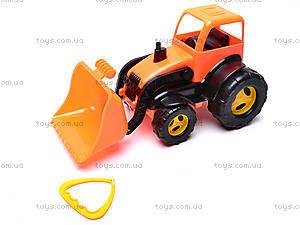 Трактор-каталка с ковшом, 5078, цена