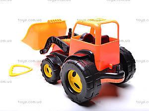 Трактор-каталка с ковшом, 5078, игрушки