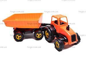 Трактор-каталка с прицепом, 5013, купить