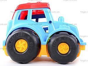 Трактор «Кузнечик», 0213, детские игрушки