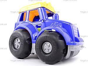 Трактор «Кузнечик», с ведром, 0220, фото
