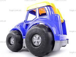 Трактор «Кузнечик», с ведром, 0220, магазин игрушек