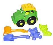 Трактор «Кузнечик №2» (зеленый), 0213, отзывы