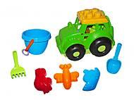Трактор Кузнечик №3 (зеленый), 0220