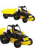 Трактор малый с прицепом , 07-7111