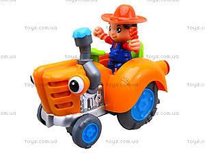 Игрушечный трактор с световым эффектом, HD936, фото