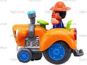 Игрушечный трактор с световым эффектом, HD936, цена