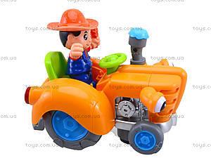 Игрушечный трактор с световым эффектом, HD936, игрушки