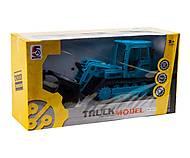 Трактор на радиоуправлении (голубой), 5A-310, фото