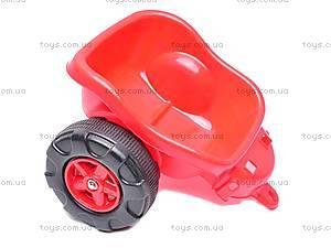 Трактор педальный, 09-902, игрушки