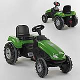 Веломобиль Трактор педальный (клаксон, сидение регулируемое) зеленый, 07-321GREN, іграшки