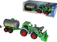 Трактор-погрузчик с цистерной «Фермер-техник», 37763, фото