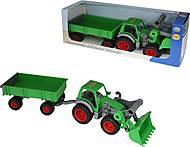 Трактор-погрузчик с прицепом «Фермер-техник», 37770, фото