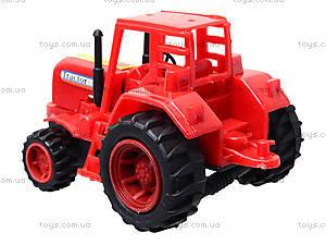 Игрушечный трактор с бочкой, 015, купить