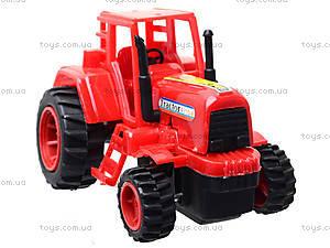 Игрушечный трактор с бочкой, 015, фото