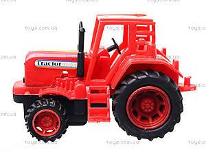 Игрушечный трактор с бочкой, 015, цена