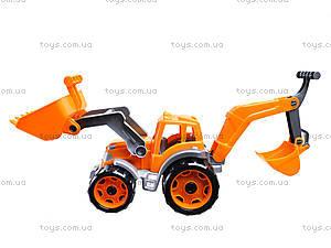 Трактор с двумя ковшами «Технок», 3671, игрушки
