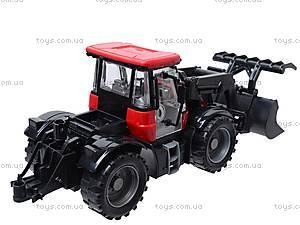 Трактор, с инерционным ходом, 2066A, игрушки