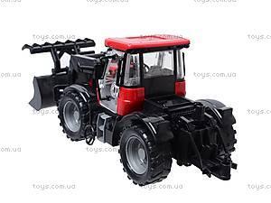 Трактор, с инерционным ходом, 2066A, детские игрушки