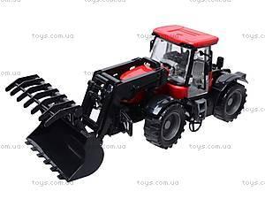 Трактор, с инерционным ходом, 2066A, toys.com.ua