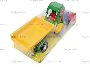 Трактор с ковшом и прицепом, 39229, купить