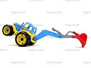 Детский трактор с ковшом «Силач», 3435, купить
