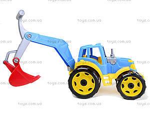 Детский трактор с ковшом «Силач», 3435, цена