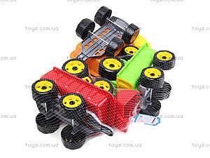Детская игрушка «Трактор с ковшом и прицепом», 3688, цена